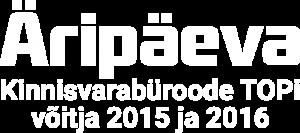 éripĄeva TOP 2015 ja 2016